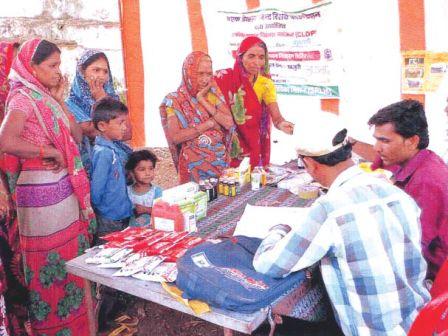 पशु बांझपन उपचार एवं पशु स्वास्थ्य शिविरों का आयोजन