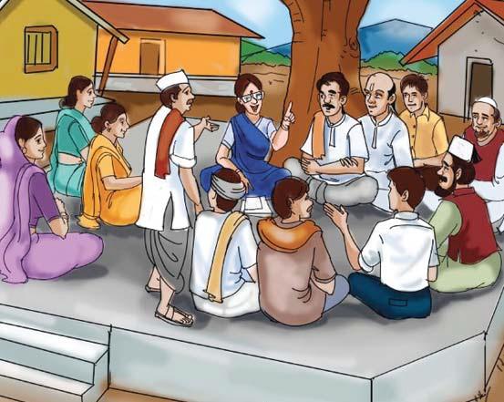 पंचायतें विकास या शासन