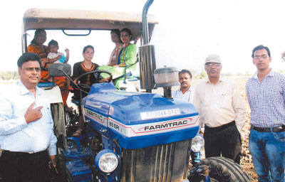 जनेकृविवि में  कृषि मशीनरी कस्टम हायरिंग पर प्रशिक्षण