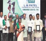 अस्पी पुरस्कार से किसानों को सम्मानित किया गया