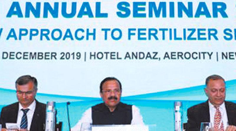 देश में पर्यावरण अनुकूल उर्वरकों की जरूरत : श्री गौड़ा