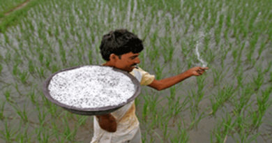 Use of fertilizers