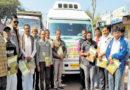 इंदौर के किसानों का अध्ययन दल होशंगाबाद में