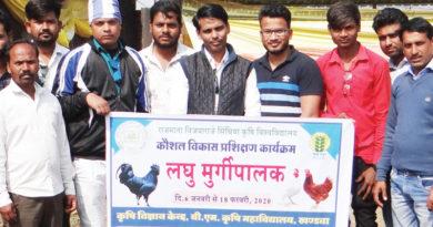 खण्डवा के उत्साही युवा बने मुर्गीपालक