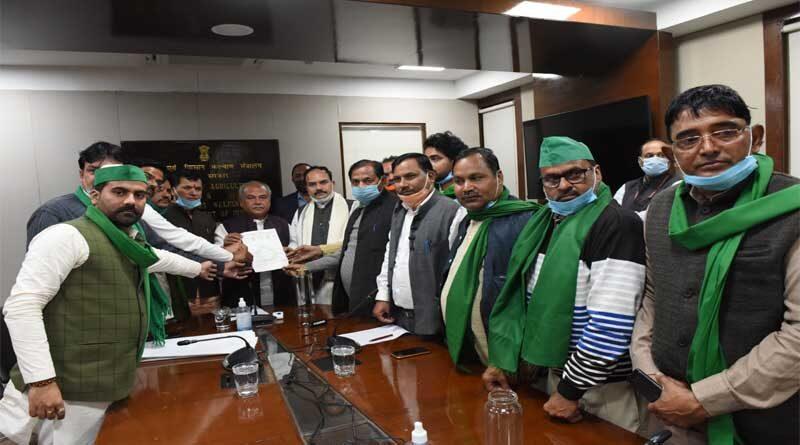 देश भर में कृषि अधिनियमों का स्वागत – नरेंद्र सिंह तोमर