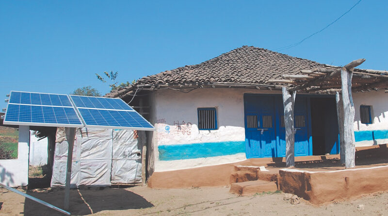 Bacha becomes country's first solar-energy self-sufficient village
