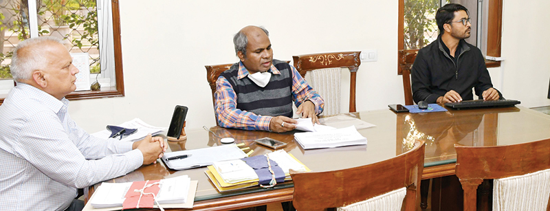 Action plan will be prepared for encroachment of pasture land and Acacia free of large ponds: Shri Arya