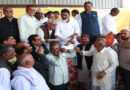 Distribution of bonus to milk producing farmers in Kamaliya Kheri