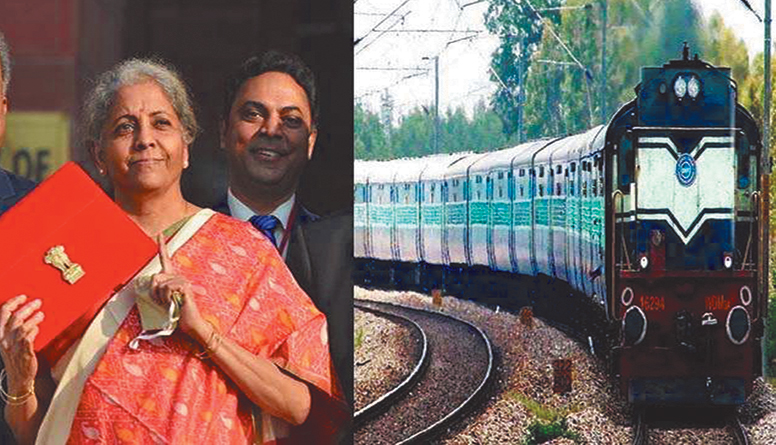 Railways got 1.10 lakh crore