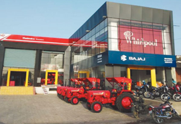 The famous dealer of Mahindra tractors, Singh Tractors