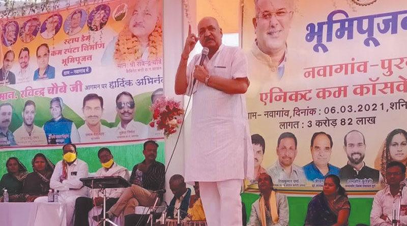 किसानों की सिंचाई सुविधाएं बढ़ाने के लिए लगातार प्रयास : श्री चौबे