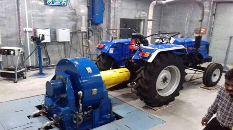 सेंट्रल फार्म मशीनरी टेस्टिंग इंस्टीट्यूट ने इलेक्ट्रिक ट्रैक्टर का परीक्षण किया