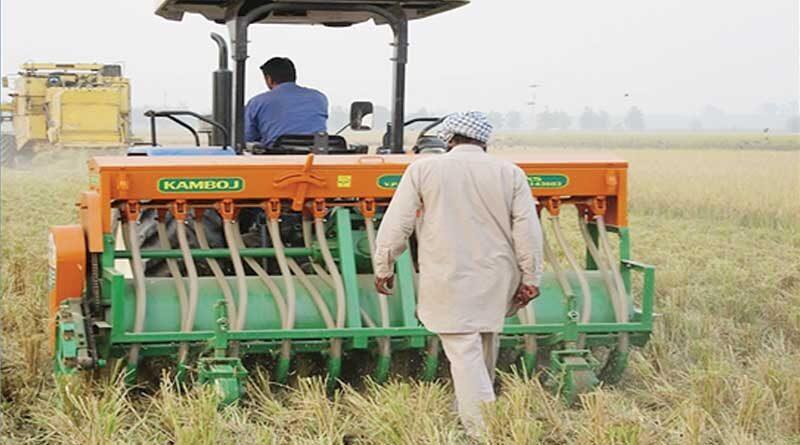 बिना जुताई 'जीरो टिलेज' के खेती एवं उसका कृषि पर प्रभाव