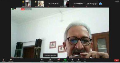 इंदौर में सोयाबीन में समेकित कीट प्रबंधन पर वेबिनार संपन्न