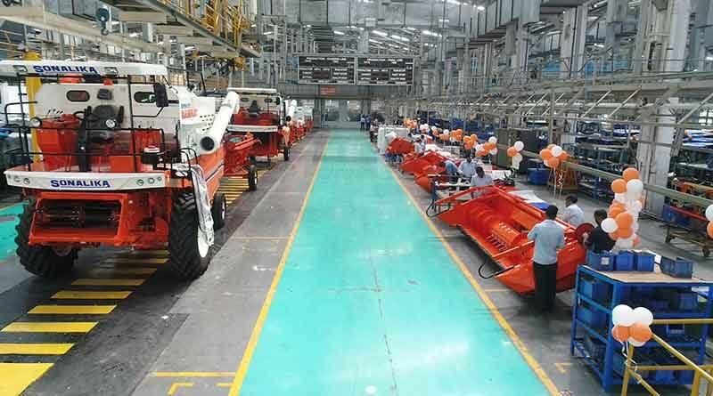 सोनालिका ने किया 200 करोड़ का निवेश उन्नत हार्वेस्टर का निर्माण