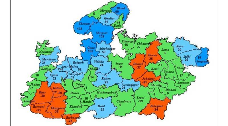 मानसून सक्रिय, गुना, श्योपुर और शिवपुरी में भारी बारिश का खतरा