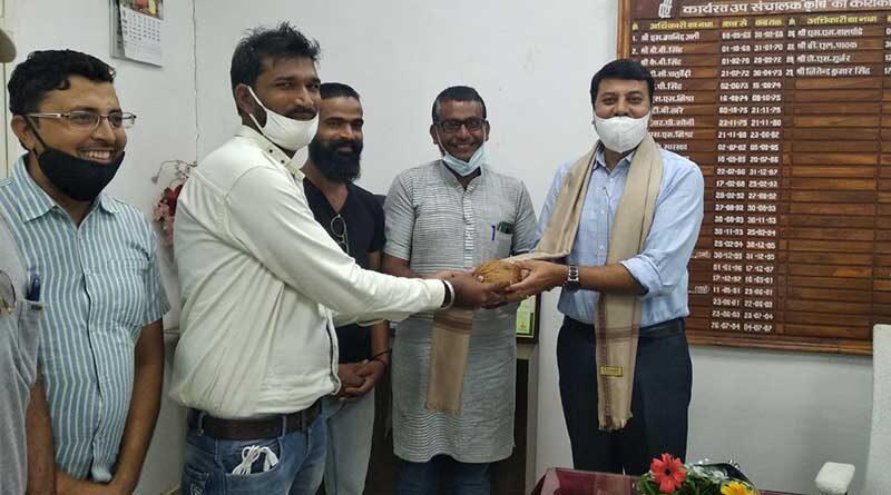 3 बार कृषि कर्मण अवॉर्ड के साक्षी श्री सिंह किसानों में लोकप्रिय