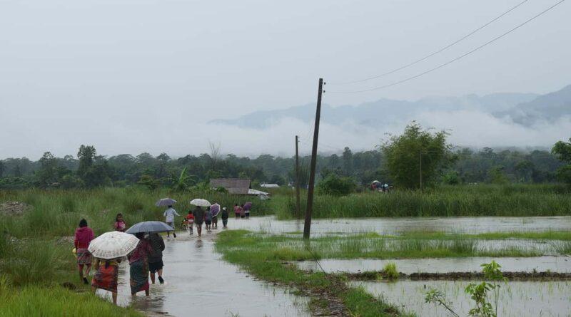 मध्य प्रदेश में वर्षा का दौर जारी