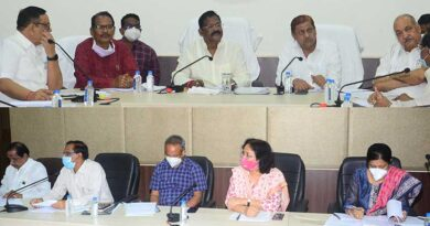 धान खरीदी की तैयारियों के लिए मंत्रिमंडलीय उपसमिति की बैठक