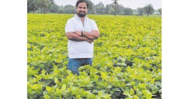 एमबीए किसान वीरेन्द्र को 1 एकड़ में 1 टन की आस