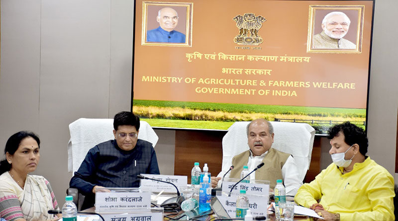 किसानों के लाभ के लिए कृषि क्षेत्र को आधुनिक बना रही है सरकार- श्री तोमर