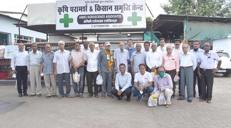 जबलपुर में जनेकृविवि के गुरुजन हुए सम्मानित