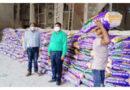 कृषि अधिकारियों द्वारा सोसायटियों में उर्वरक का सत्यापन
