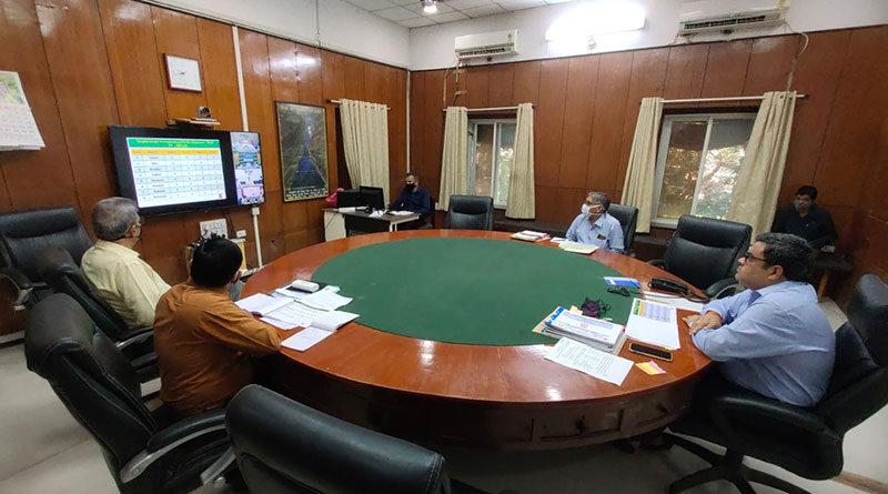 खरीफ 2021 की समीक्षा एवं रबी 2021-22 की तैयारी संबंधी संभागीय बैठक सम्पन्न
